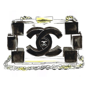 CLUTCH CHANEL , LEBOMBE